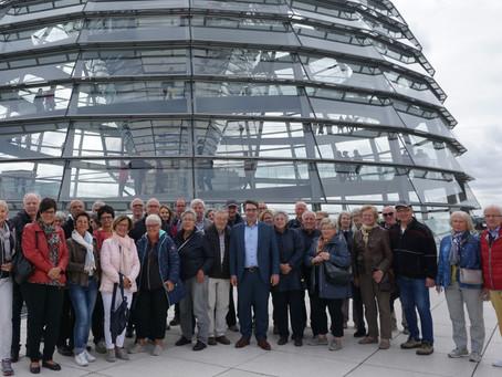 CDU Ortsverband Hau zu Besuch im Bundestag