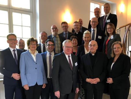 Rouenhoff bei Bischof Genn in Münster