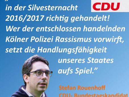 Statement zur Silvesternacht 2016/2017