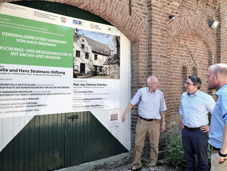 RP-Online: Große Fortschritte auf Haus Ingenray