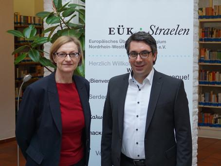 Rouenhoff zu Gast beim Europäischen Übersetzer-Kollegium