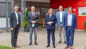 RP-Online: Staatssekretärin Sabine Weiss besucht das St.-Clemens-Hospital