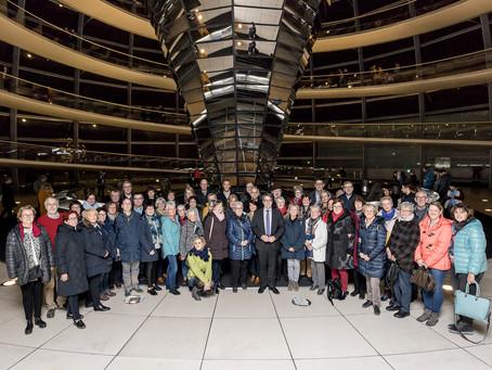Rouenhoff empfängt Lokalpolitiker in der Bundeshauptstadt