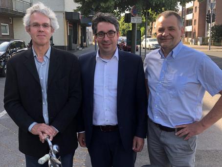 Rouenhoff trifft neu gegründeten Fahrrad-Verband