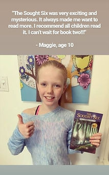 Maggie loved the first book and can't wait for the sequel!