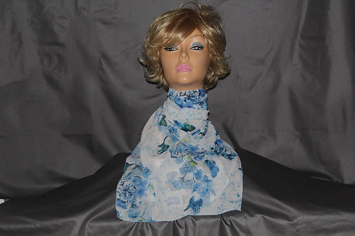 Blue Butterflies Neck Scarf