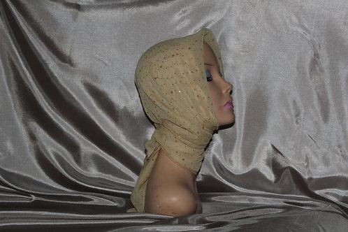 Sand Chiffon Ducco Cancer/Head Scarf