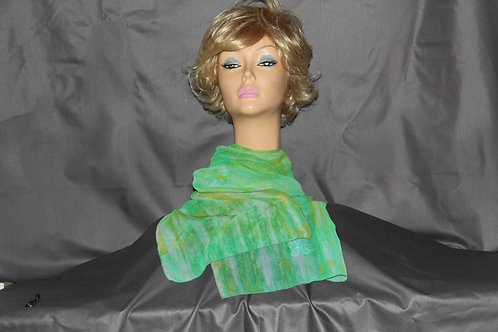Green Clover Neck Scarf