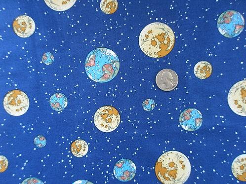 Earth, Moon and Stars