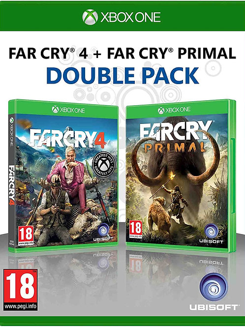 Far Cry 4 & Far Cry Primal Double Pack