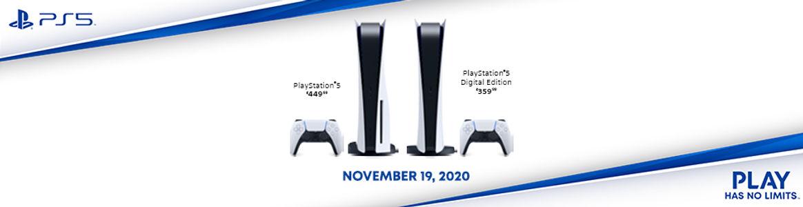 PS5 & Digital Banner