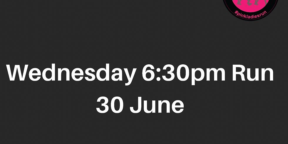 Wednesday Run 30 June