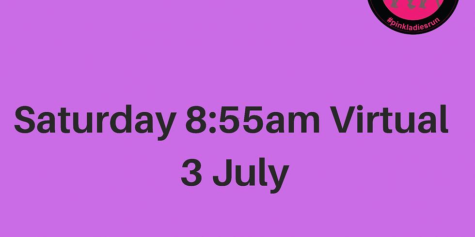 Saturday Virtual 3 July