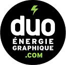 Logo Duo Énergie graphique