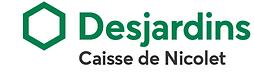 Logo Caisse Desjardins de Nicolet