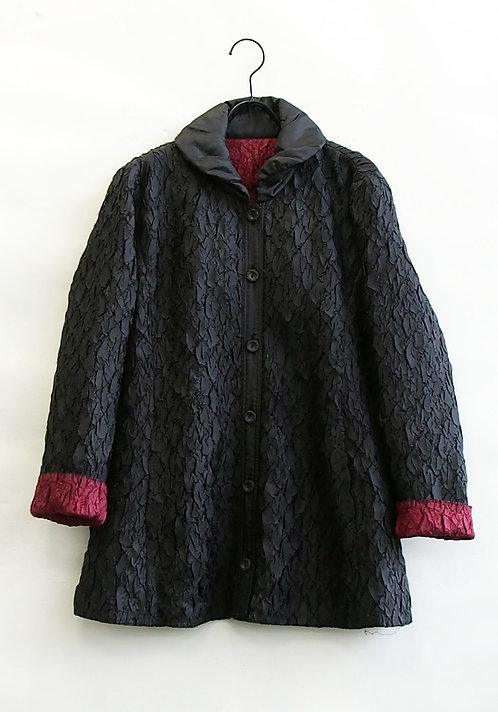 【Lサイズ】中綿プリーツキルティングジャケット