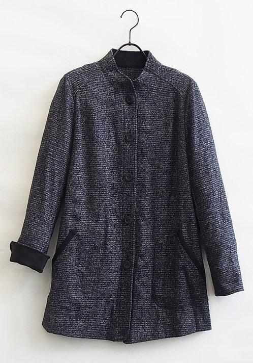 【Lサイズ】ストレッチツイードジャケット