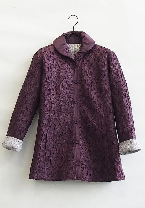 中綿プリーツキルティングジャケット