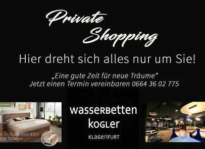 Private Shopping!