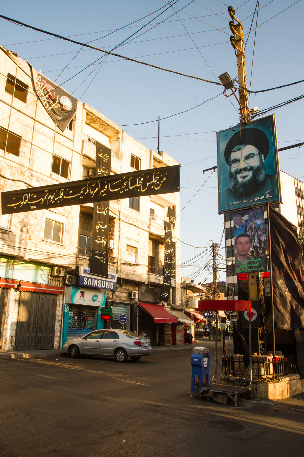 Rue de Nabatiyeh, fief du Hezbollah - Liban