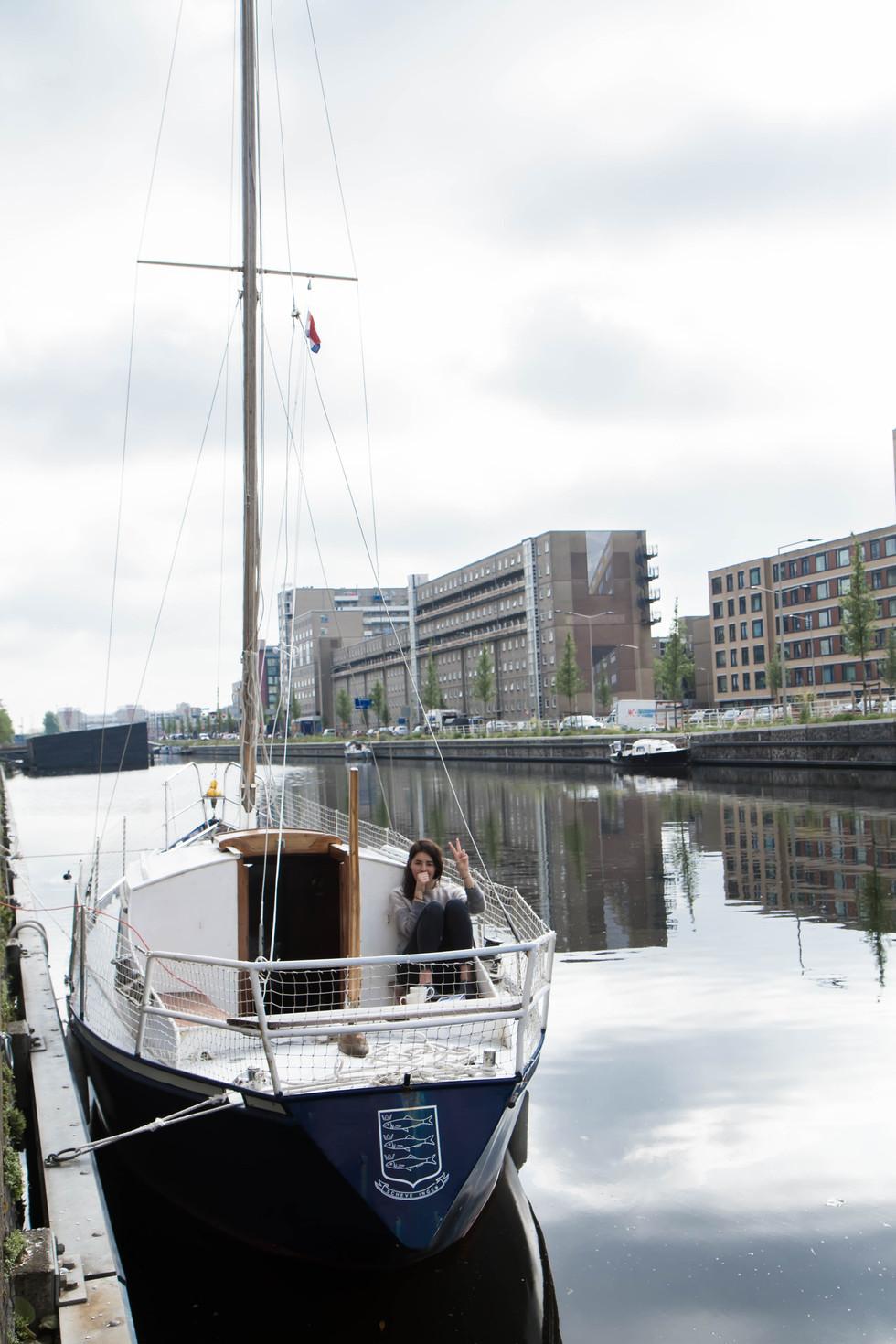 Habitant des canaux - La Haye