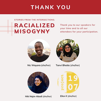 Stories from the Intersections: Racialized Misogyny