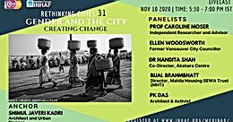 Gender and Cities Creating Change