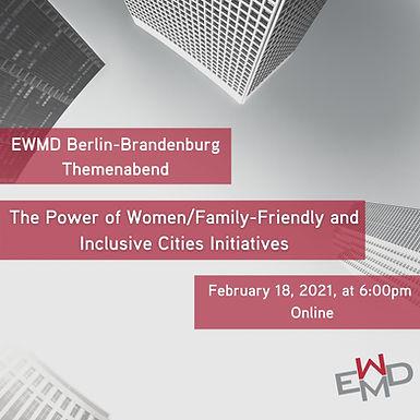 Women Friendly Cities Panel