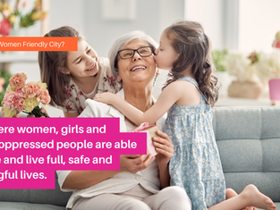 Announcing the Re-Launch of the Women Friendly Cities challenge