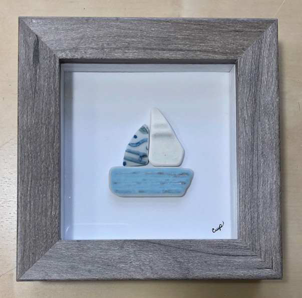 Pottery Boat
