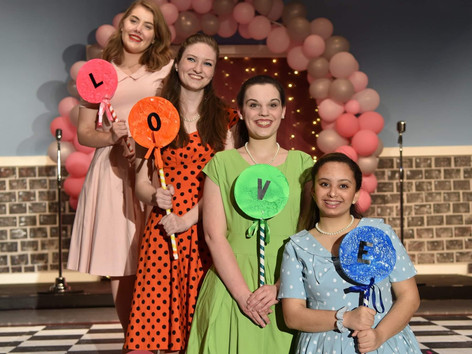 The Marvelous Wonderettes. St. John's College High School, Spring 2019