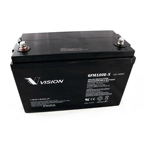 Vision 6FM100E-X Battery