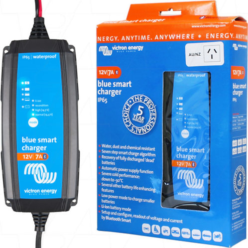 Victron Energy Blue Smart IP65 Charger 12/7 - Battery Charger 12V 7A