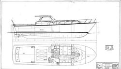 Plans for aluminium boat Frigga