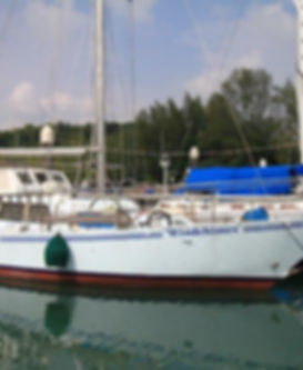 ALan Wright Oceans 14 Salthouse Brothers Yacht for sale in Langkawi Malaysia.