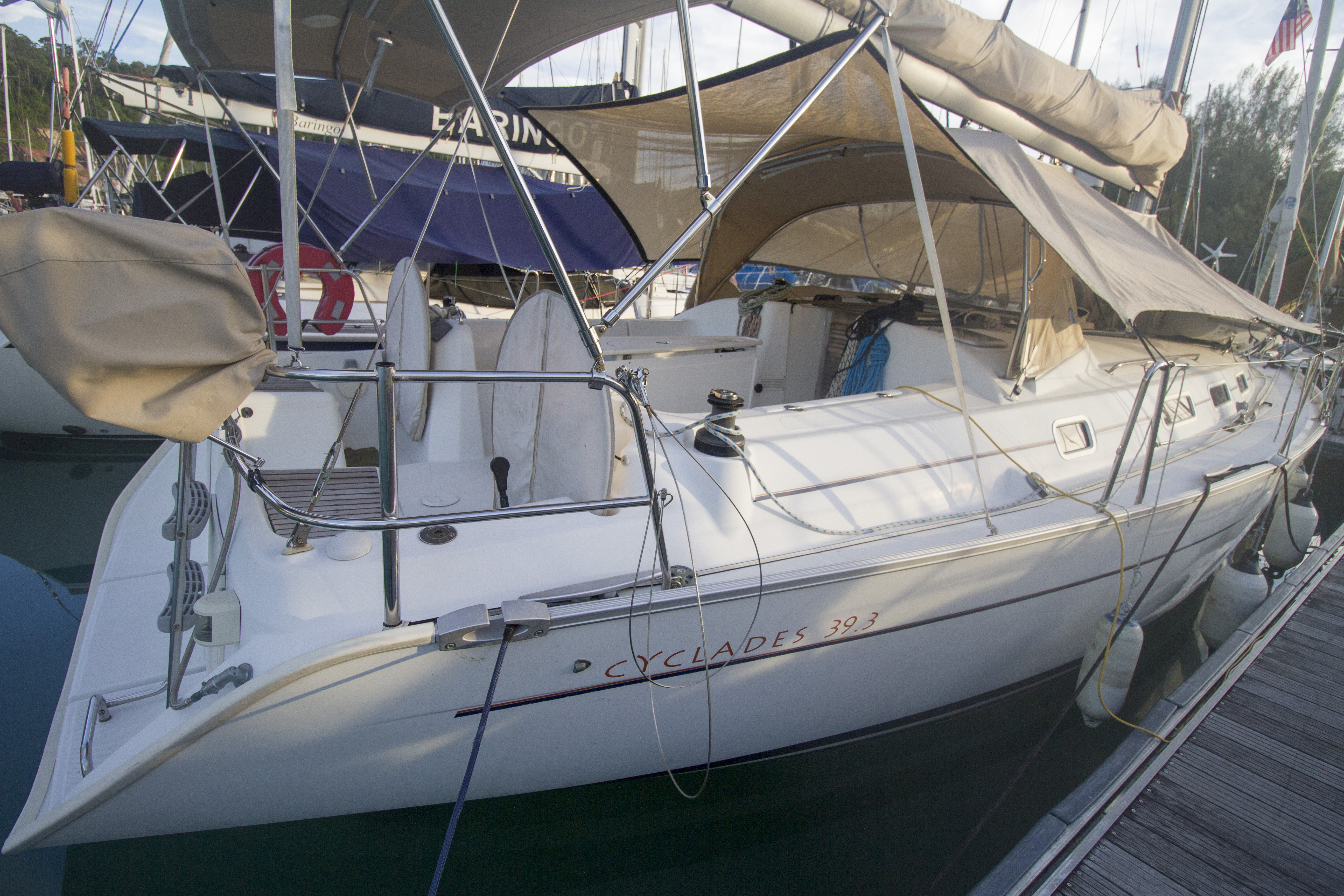 Beneteau Cyclades for sale Malaysia 28