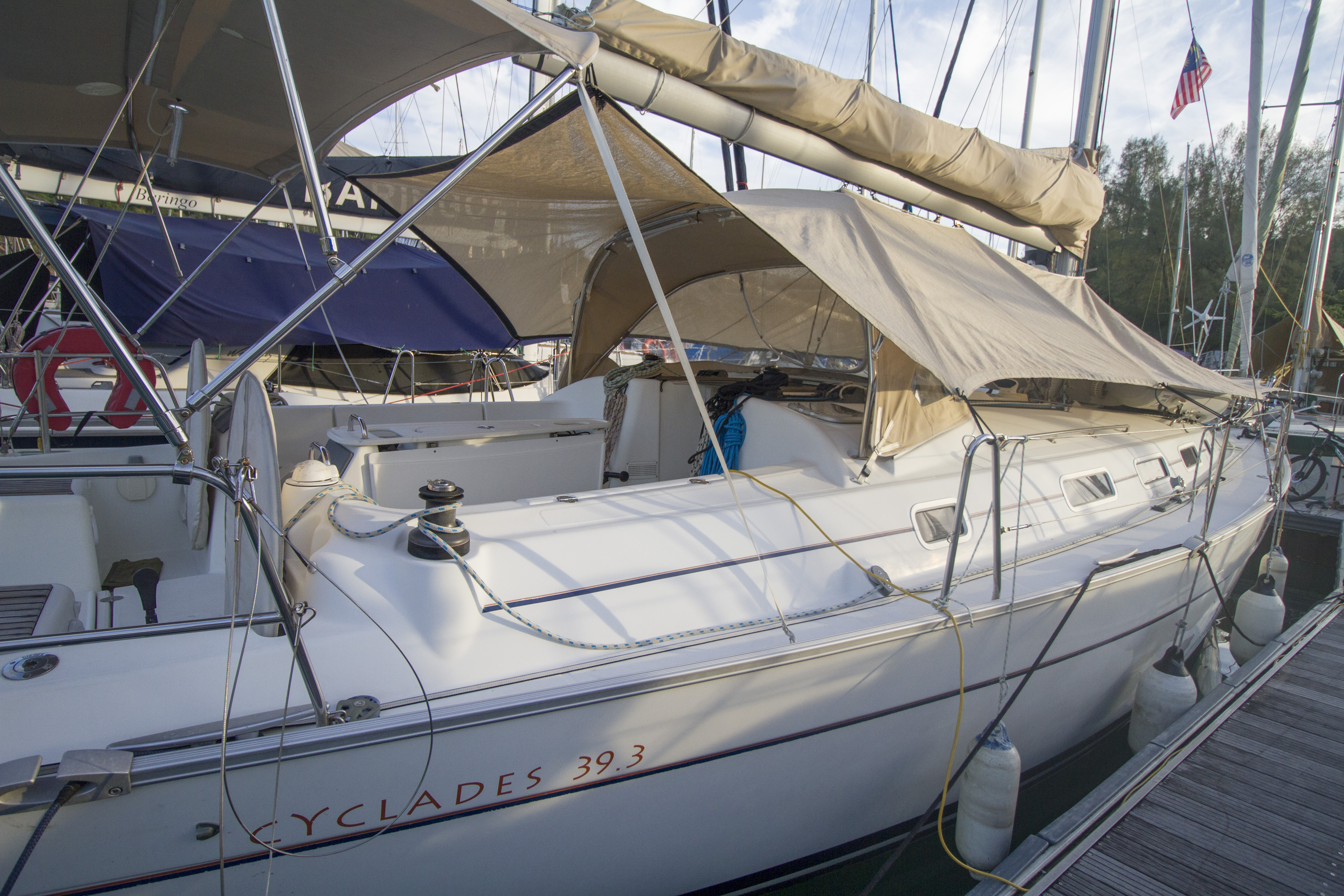 Beneteau Cyclades for sale Malaysia 29