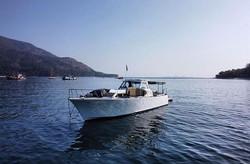 Frigga on anchor