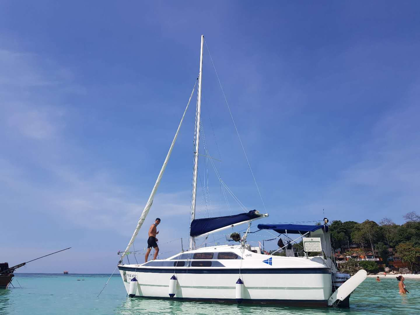 Tattoo yacht for sale in langkawi