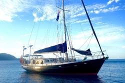 Adams 45 steel boat for sale in Langkawi