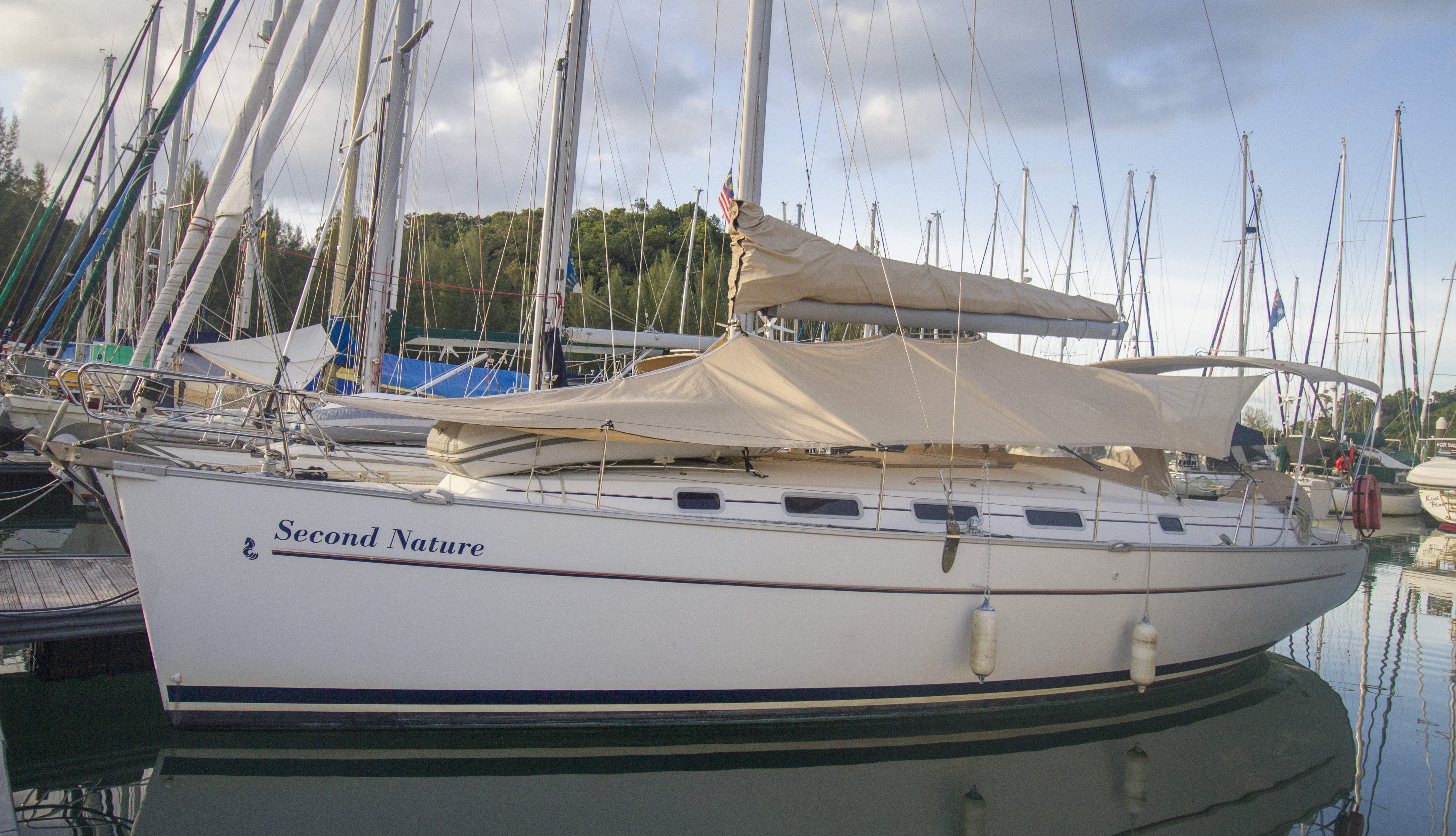 Beneteau Cyclades for sale Malaysia 18