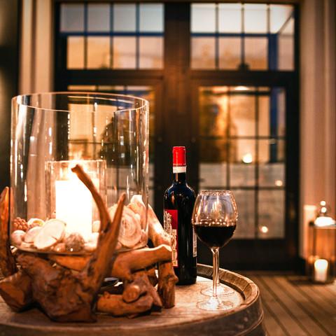 Wein & Kerzenschein