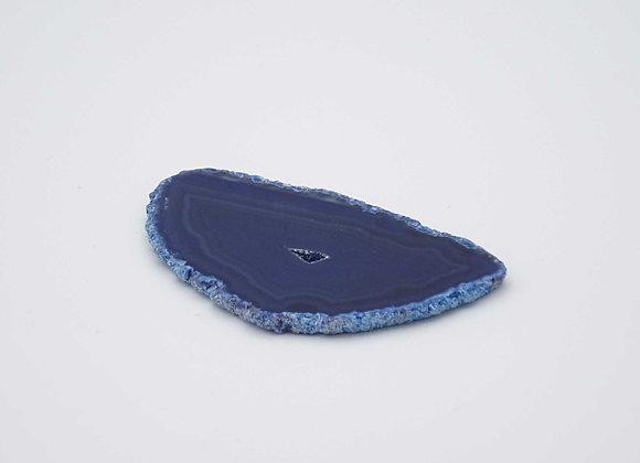 Agate bleu (teinté)