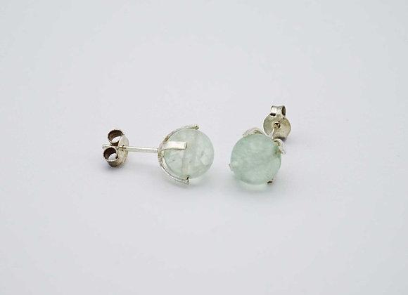 Boucles d'oreilles Fluorite