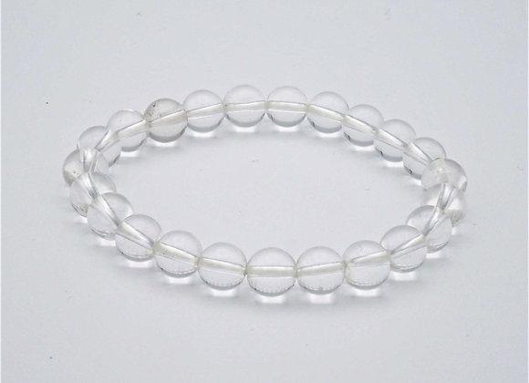 Bracelet Cristal de roche (quartz)