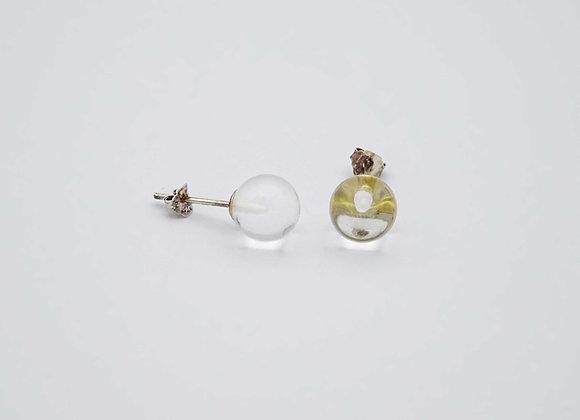 Boucles d'oreilles Cristal de roche (Quartz)