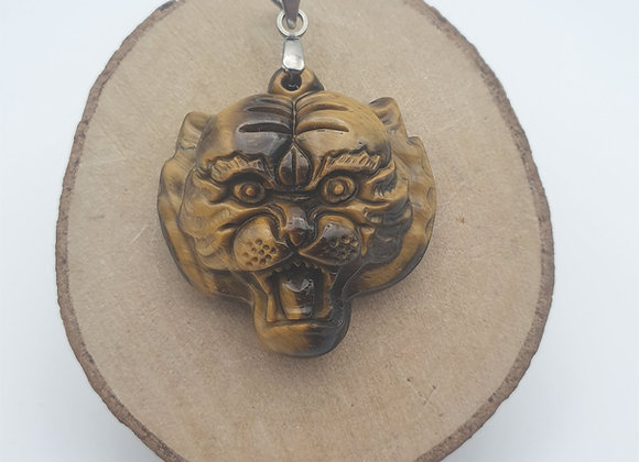 Pendentif Œil du tigre 2
