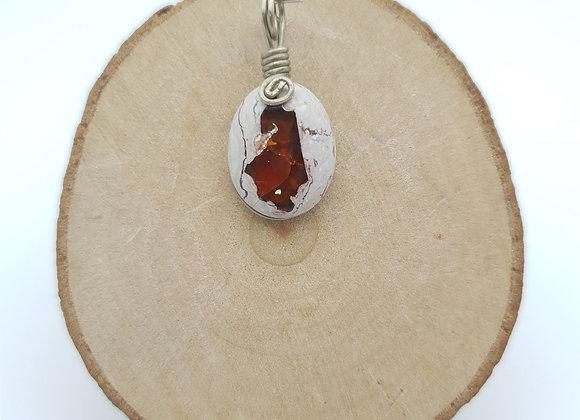 Pendentif Opale boulder 2
