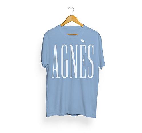 T-shirt Agnès, bleu