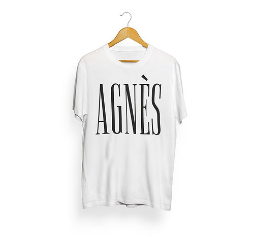 T-shirt Agnès, blanc